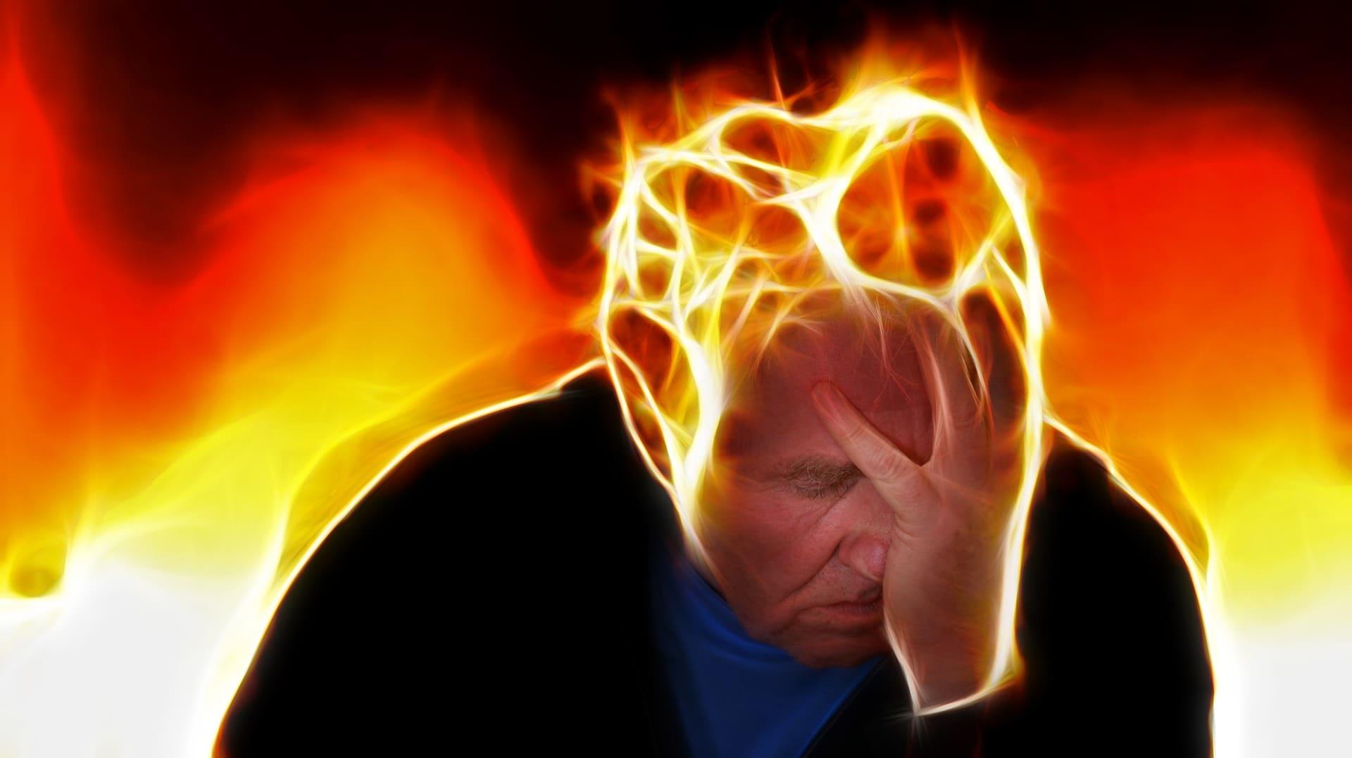 頭痛を感じる人
