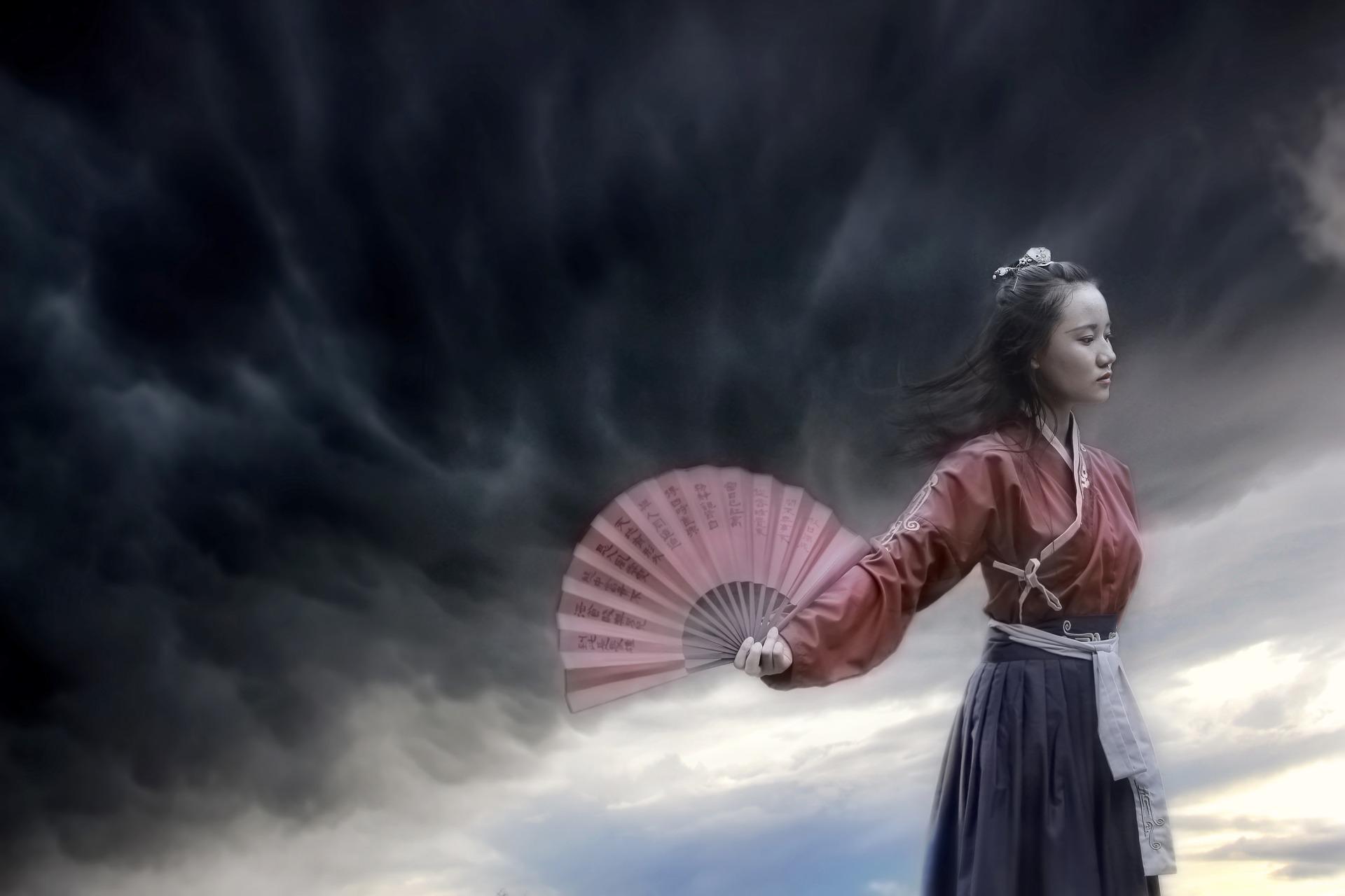 中国の女性です