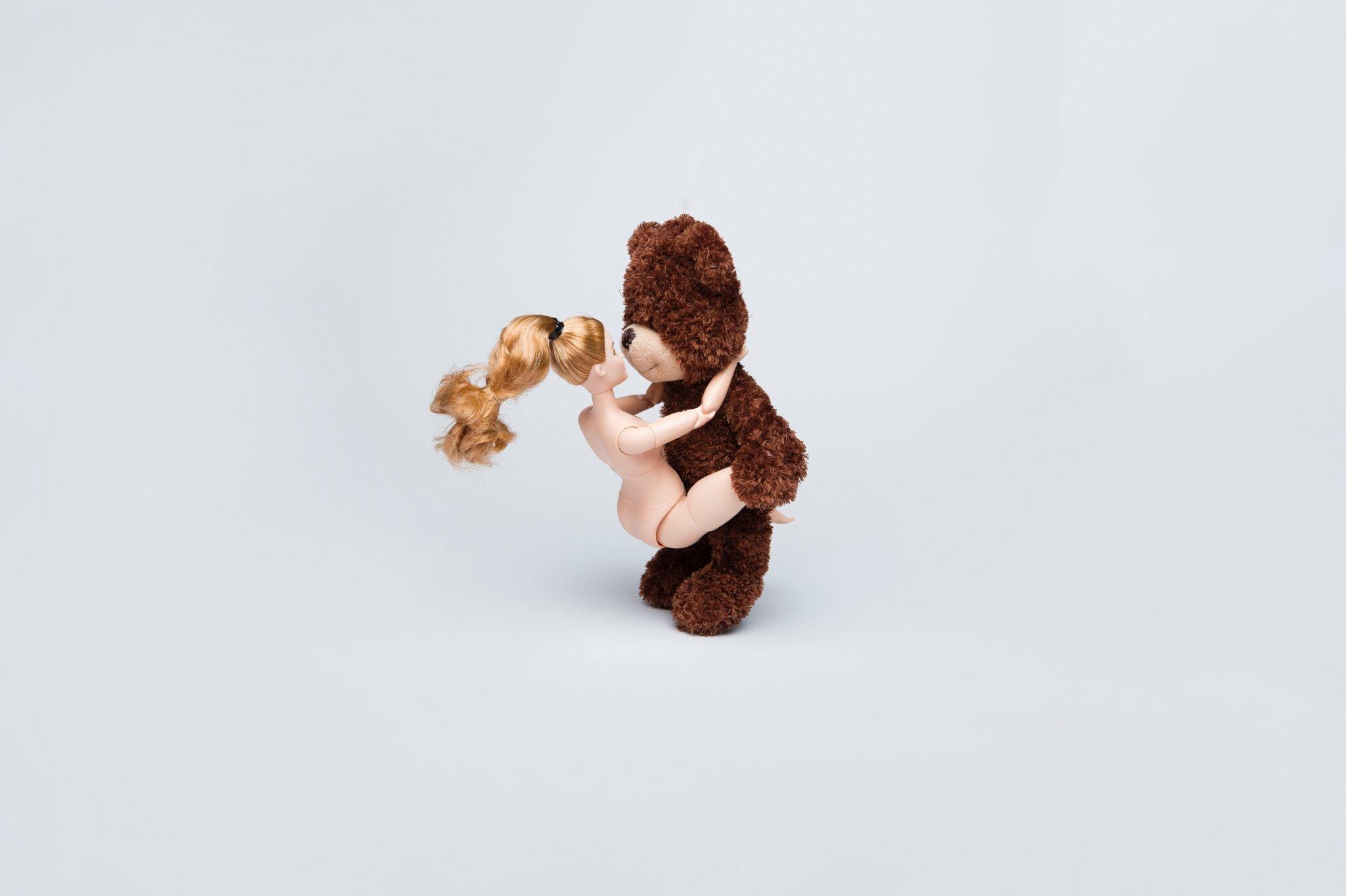熊と人形のセックス
